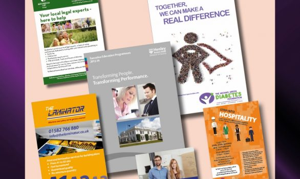 Leaflets, Postcards, Brochures